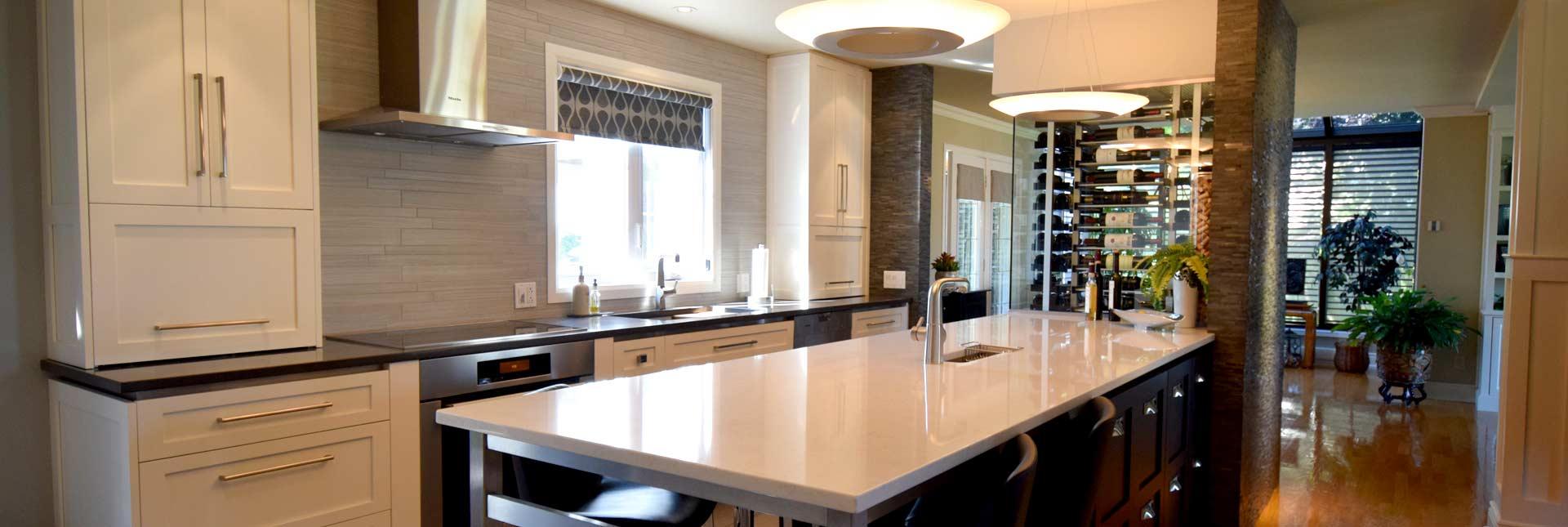 cuisine et cellier la bo te design. Black Bedroom Furniture Sets. Home Design Ideas
